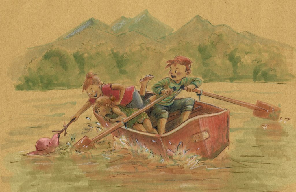 kinderbuch_illustration_boot_see_gruhl
